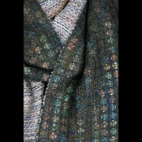 Abalone Shell Scarf Detail