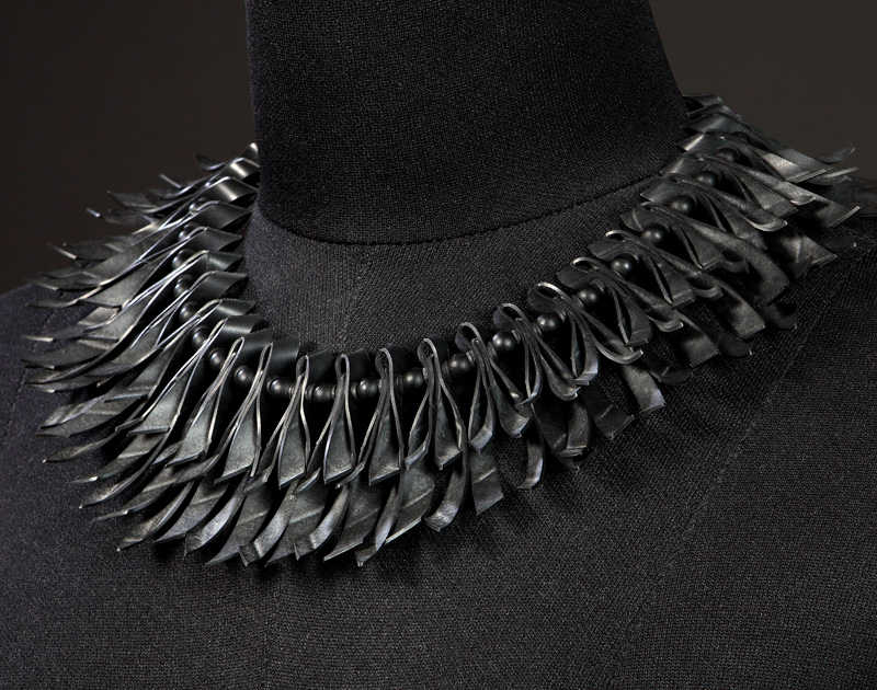 Endarek - Necklace of the Void Ribbon-Necklace-All-Black